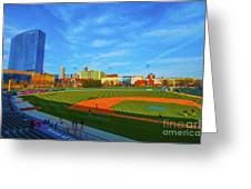 Victory Field 1 Greeting Card by David Haskett