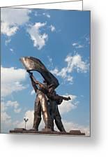 Victory Monument, Dien Bien Phu, Vietnam Greeting Card