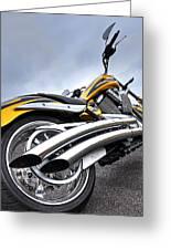 Victory Motorcycle 106 Vertical Greeting Card