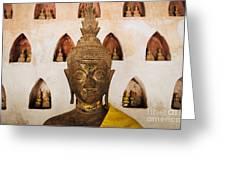 Vientiane Buddha 2 Greeting Card