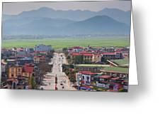 Vietnam, Dien Bien Phu Greeting Card