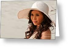 Vietnamese Bride 02 Greeting Card