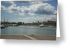 Vieux Port View Marseille Greeting Card