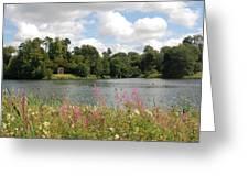 View At Bowood Greeting Card