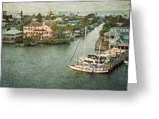 View At Fort Myers Beach - Florida Greeting Card