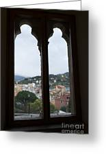 View From A Window Greeting Card