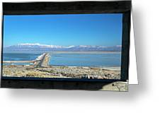 View From Antelope Island Greeting Card