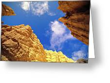 View From Of Bryce Canyon Greeting Card by Yva Momatiuk John Eastcott