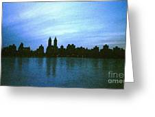 View From Central Park Greeting Card