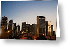 View From Deep Ellum Greeting Card