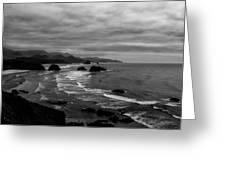 View From Ecola Park Greeting Card