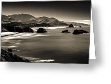 View From Ecola Greeting Card