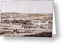 View From Gambles Hill, Richmond Greeting Card