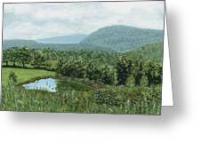 View From Kent St. Greeting Card