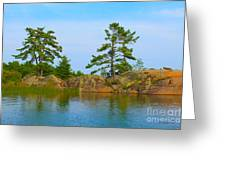 View From Killarney Mountain Lodge Greeting Card