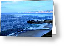 View From La Jolla Greeting Card