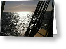 View From Lady Washington Greeting Card by Deahn      Benware