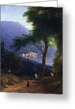 View From Livadia-1861 Greeting Card