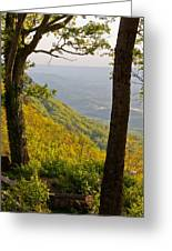 View From Lookout Mountain Greeting Card
