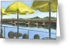 View From Martine's-new Hope Greeting Card