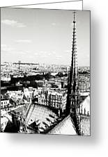 View From Notre Dame Greeting Card