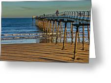 View From Saltburn Pier Greeting Card
