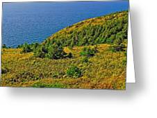 View From Skyline Trail In Cape Breton Highlands Np-ns Greeting Card