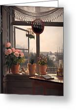 View From The Artist's Window Greeting Card