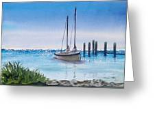 View From The Barnacle Greeting Card