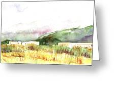 View From The Beach Greeting Card