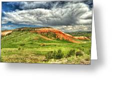 view from the Chief Joseph Highway  Greeting Card