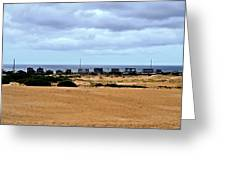 View From The Dunes Greeting Card