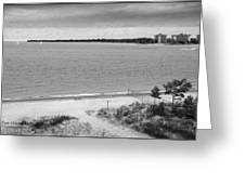 View From The Fort Gratiot Light House Greeting Card