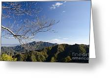 View From The Great Wall 842 Greeting Card