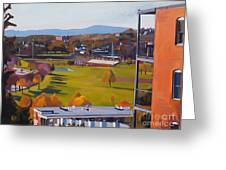 View From The Heights Greeting Card