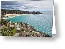 View From The Minack Theatre Greeting Card