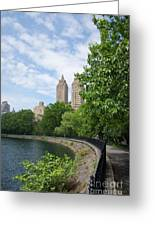 View From The Park West Side Greeting Card