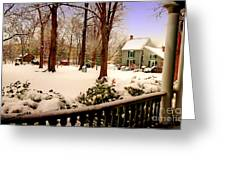 View From The Porch Greeting Card