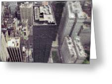 View From The World Trade Center Greeting Card