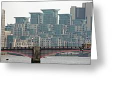 View From Westminster Bridge Greeting Card