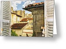 View In Cognac Greeting Card