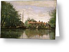 View In Holland Greeting Card