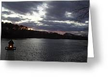 View In Maine Greeting Card