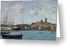 View Of Antibes Greeting Card