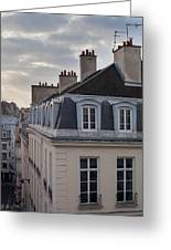 View Of Apartments On Rue Beauregard Greeting Card