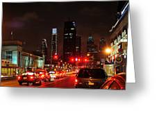 View Of Center City Greeting Card