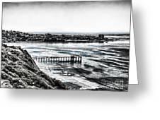View Of La Jolla From Torrey Pines Cliffs Greeting Card