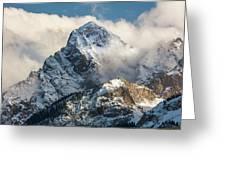 View Of Mount Sneffels And San Juan Greeting Card