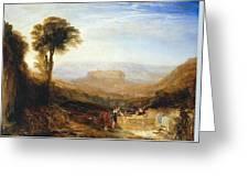 View Of Orvieto Greeting Card