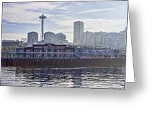 View Of Pier 70 Greeting Card
